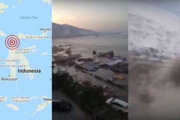 Indonesia earthquake tsunami september 2018