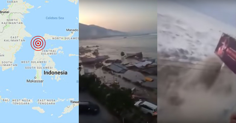 Indonesia earthquake tsunami september 2018