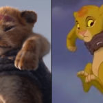 The Lion King Movie Side-by-Side With The Old