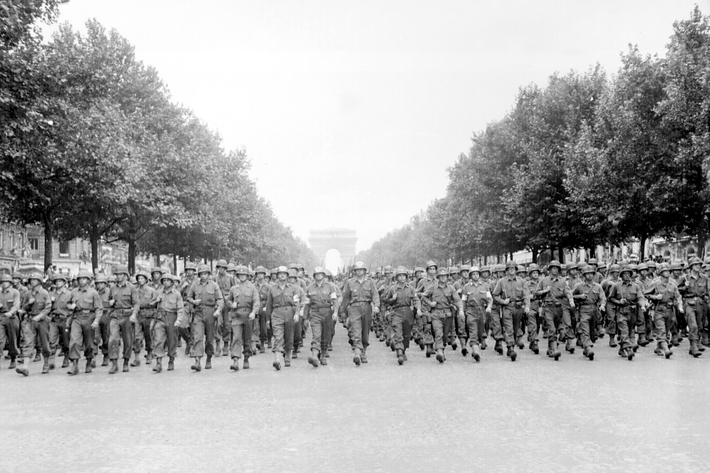 28th Infantry Division - Liberation of Paris