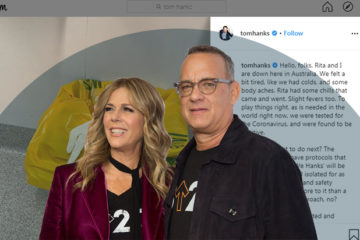 Tom Hanks and Wife Coming Out As Positive For COVID-19 Reminds Us That This Virus Does Not Discriminate